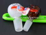 De gehele Adapter van het Glas van de Toebehoren van de Waterpijp van het Glas van de Vorm van het Ontwerp van de Verkoop Kleurrijke