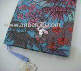Cuaderno de papel de lujo con el bloqueo