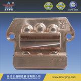 熱い鍛造材の銅版