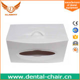 Color verde de la silla de la unidad de los recambios del rectángulo dental dental del tejido