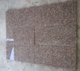 Granito popolare G687, pavimentazione di colore rosa della pesca del granito del granito