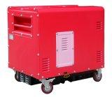 3kw super Stille Diesel Luchtgekoelde Rood van de Generator en Roze