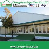 大きい屋外の会議の会合の玄関ひさしのテント