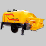 Cemento che pompa la macchina diesel della pompa per calcestruzzo