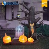 Casa assombrada Halloween do fantasma do gato das decorações de Halloween abóbora inflável inflável