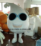 Costume personalizzato della mascotte del carattere del latte per il partito