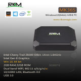 2GB RAM 32GB SSD TV Box Intel Z8300 Windows-10 Mini-PC