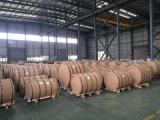 3003 bobinas do alumínio do revestimento da cor H24 para a telhadura