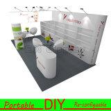 Kundenspezifisches leichtes haltbares bewegliches modulares DIY Ausstellung-Stand-Regal