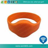 Wristband del silicone RFID di 13.56MHz Ntag213 NFC