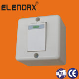 Interruptor elétrico do soquete de parede do cobre do ABS de Indonésia (S2019)