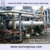 Serbatoio di acciaio di gomma della pressa del serbatoio del rivestimento chimico dell'HDPE T-53