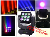 2017 Le plus récent Infinite Rotating RGBW 4 en 1 LED 9 PCS * 10W Matrix Pixel Moving Head Beam pour Stage Show Party