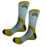Zoll-Baumwolltrockene passende laufende Sport-Socken 100%
