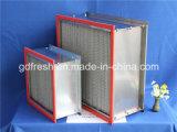 Filtro de aire de alta temperatura de la resistencia HEPA del Ht del cartucho de filtro HEPA