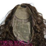 Perruque de lacet de cheveux humains de Remy de mode pleine