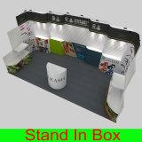 Encargo portátil estante de exhibición Feria Exposición Slatwall