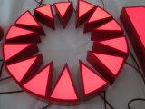 Изготовленные сталью акриловые загоранные знаки письма тождественности консьержа