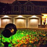 Luces de la Navidad móviles al aire libre del laser de la luciérnaga de Red&Green, luz laser al aire libre de China