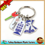 Cadeau fait sur commande de trousseau de clés en métal de promotion (TH-06022)