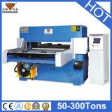 Pano de alimentação automático de Hg-B60t máquina de corte material