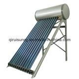 Système de chauffage solaire de l'eau de pression avec Keymark En12976