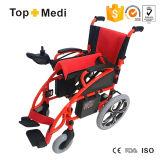 Кресло-коляска Tew806D электричества поставщика Topmedi Китая складная