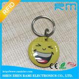 Подгоняйте усмешку ключевой бирки ярлыка эпоксидной смолы RFID