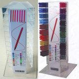 Stand coloré acrylique de stylos avec le logo