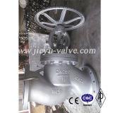 Válvula de globo del volante de dirección del estruendo Pn16 Dn250 Wcb