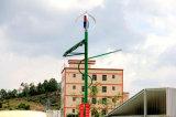 générateur de vent vertical de l'axe 400W pour le système d'appareil-photo avec la batterie 24V