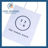 Kraft pulito Paper Bag con Twist Paper Handle (CMG-MAY-053)