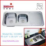 Dispersore di cucina con la scheda dello scolo, dispersore dell'acciaio inossidabile (11548A)