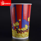 Il popcorn di carta Buckets l'abitudine 85 once