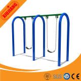 Conjuntos al aire libre del oscilación del hierro de la seguridad de los conjuntos al por mayor del oscilación para los niños y los adultos