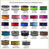 OEMさまざまなカラー1.75mmプラスチックPLAのABSセリウムABS 3Dプリンター消耗品のフィラメント