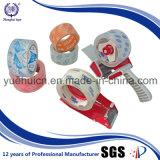 Cinta cristalina del paquete BOPP del encogimiento de Rolls del fabricante 6 del OEM
