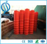Tambour en plastique de circulation de barrière de vente chaude pour des barricades