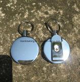 протягивать взломщика кольца Retractable веревочки резильянса 4cm ключевой Анти--Потерянный Keychain