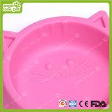Cat Face Shape Design Double produits pour animaux de compagnie, Bowl