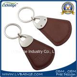 Encadenamiento dominante de cuero barato de la alta calidad con insignia de encargo