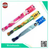 RFID Polyester Woven Wristband für Evening, Party, Festival und Gift