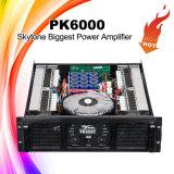 Amplificador audio do registrador dos multimédios grandes da potência Pk6000