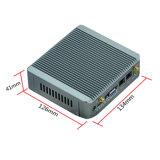 만 가신 Fanless J1900는 근거리 통신망 Nano PC/소형 PC/차 PC 지원 VGA+HDMI 이중으로 한다