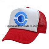 Anime идет шлем бейсбола логоса вышивки Ketchum золы