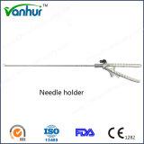Instruments chirurgicaux Porte-aiguille courbé laparoscopique