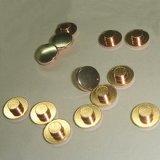 Todo o tipo das pontas de prata do contato do rebite feitas de acordo com desenhos e especificação dos clientes