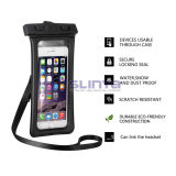 Rückseite Armband Slot Ipx8 Eco-Friendly mit Headphone Jack Waterproof Bag