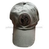 Kundenspezifische gewaschene Baseballmütze, neue Entwurfs-Hysterese Sports Hut