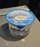 Máquina de embalagem de enchimento da selagem do copo plástico da água